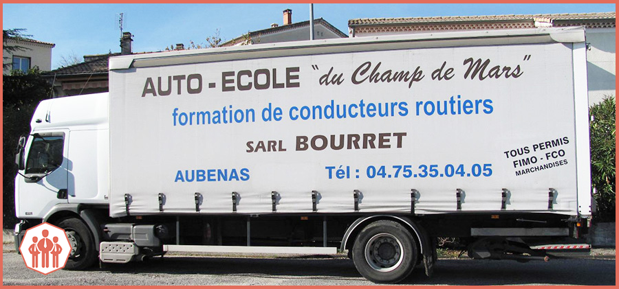 Camion professionnel